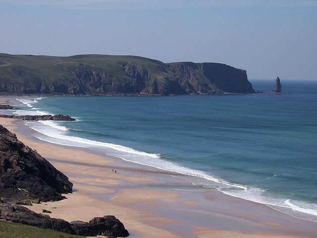 sandwood bay, sutherland, scotland