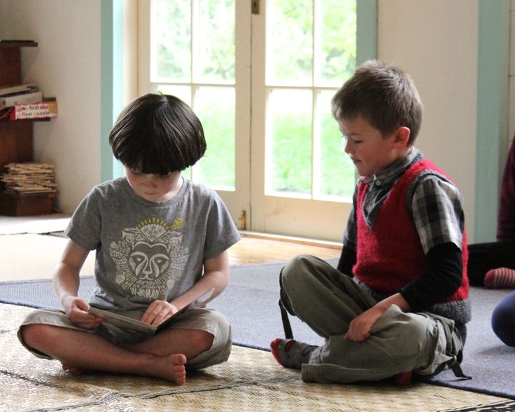 Reading with a buddy helps build confidence and concentration.