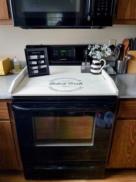diy noodle board house stuff noodle board kitchen decor stove rh pinterest com