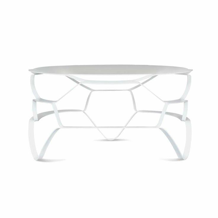 Table basse - LOLL Lounge - Blanc - Mobilier/Tables basses et tables d'appoint - Design from Paris