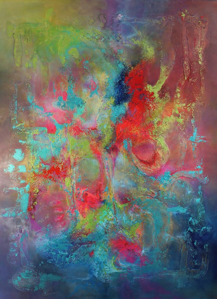 THE LABYRINTH OF DREAMS - abstract painting by LIRZO | textures, mixed media and original painting  Follow me on Instagram and Facebook @artoflirzo