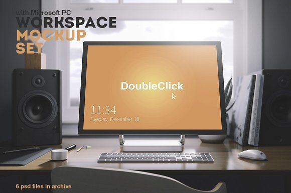 Workspace Mockup Set 6 by Best Pixels on @creativemarket