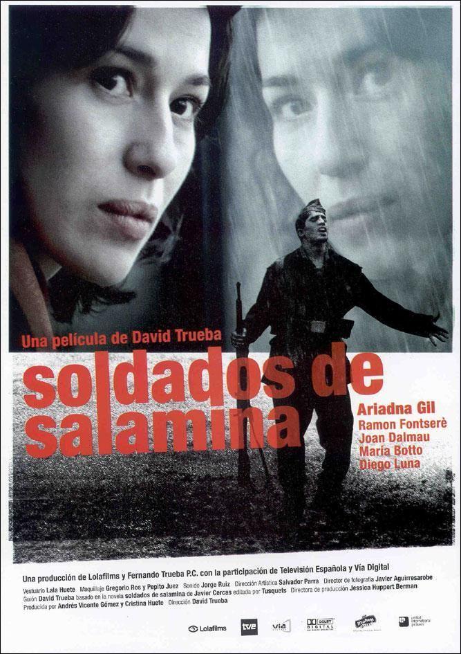 Soldados de Salamina / una película de David Trueba ; guión David Trueba ; basada en la novel de Javier Cercas