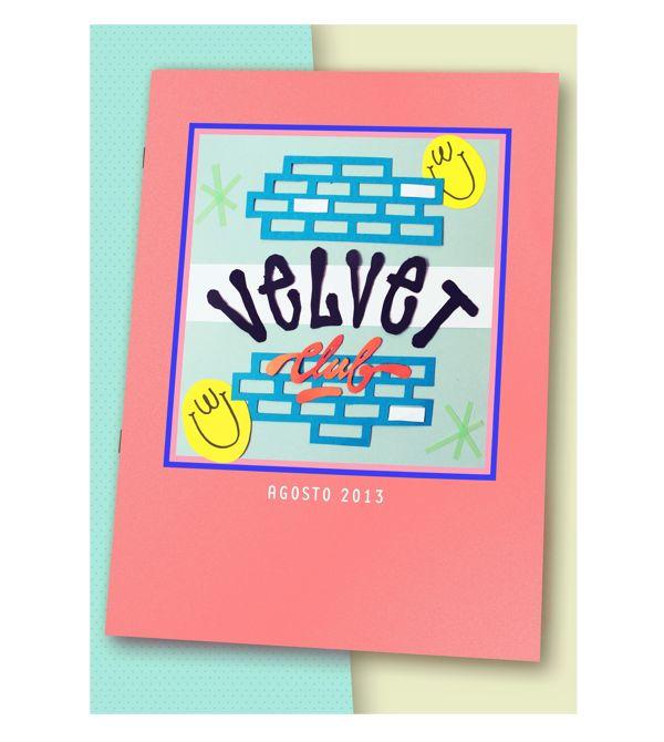 Velvet Club Poster by Bandiz Studio, via Behance