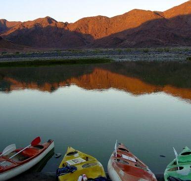 Orange River, South Africa/Namibia border