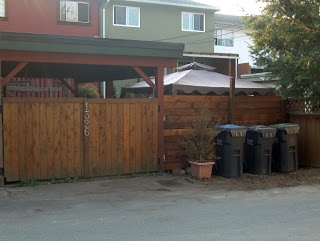 Building A New Fence, One Day Makeover, Looking From The Alleyway With New  Carport · Gate IdeasDoor ...