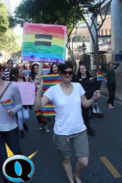 Brisbane Marriage Equality Aug 2015