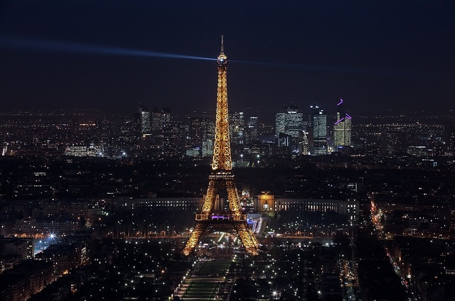 View from Tour Montparnasse by Kevin D. Haley, via Flickr