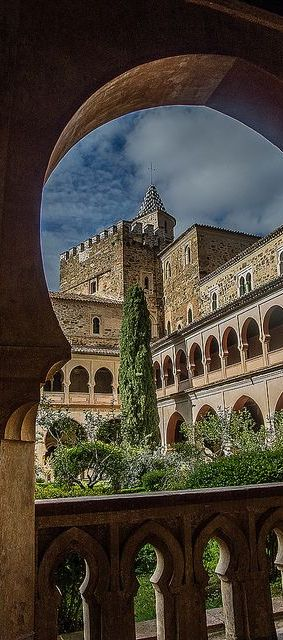 Monastery of Guadalupe, Caceres, Spain