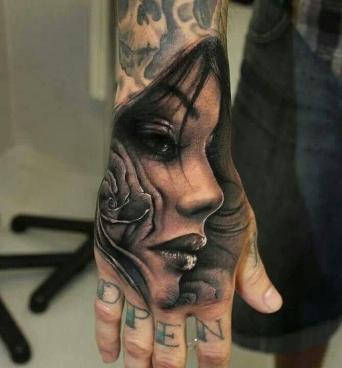 Cool Hand Tattoo | Tattoo | Pinterest | Hand Tattoos, Tattoos and ...