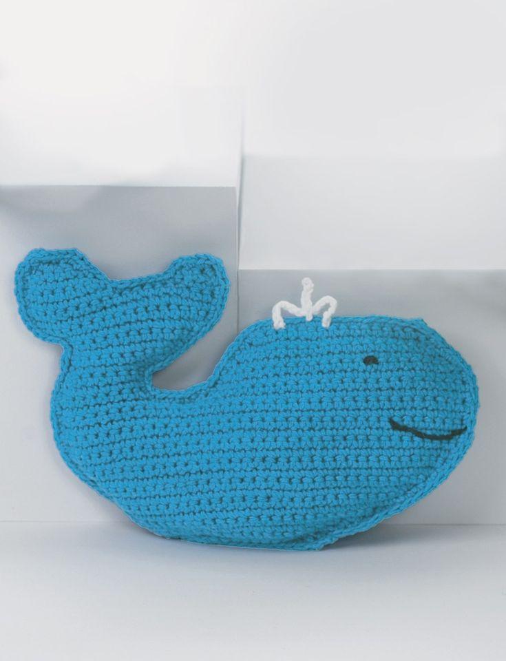 Yarnspirations.com - Lily Baby's Friendly Whale  - Patterns  | Yarnspirations