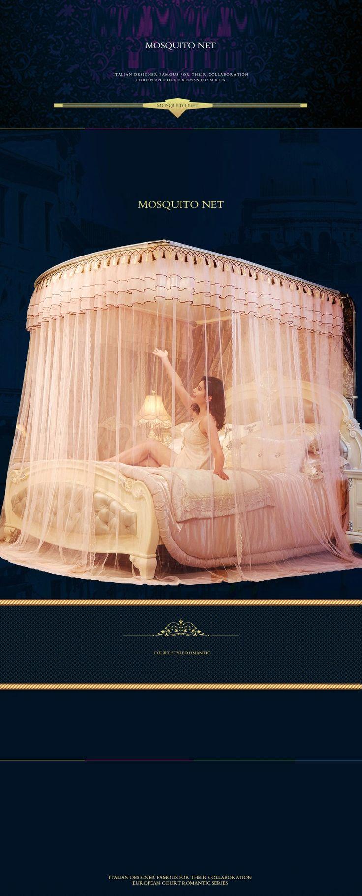 BB # Швейцарский сна И телескопического типа москитная сетка три двери из нержавеющей стали напольная подставка двойной 1.5m1.8m 2 м 2.2 кровать дома купить на AliExpress