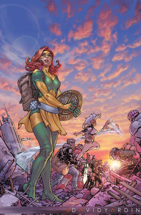 Extraordinary X-Men #20 - David Yardin