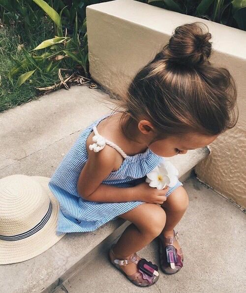Imagem de cute, baby, and flowers