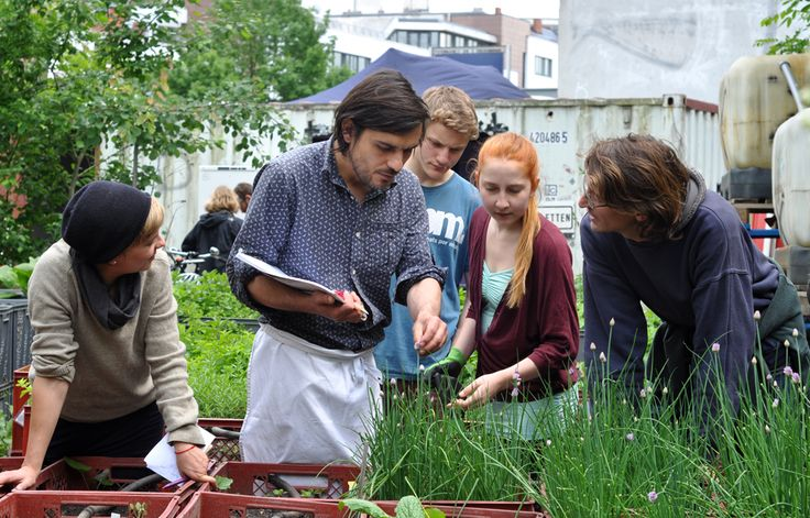 Prinzessinnengarten » Gartencafé und Gartenrestaurant