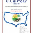 Forced Migration (Black Slavery in the U.S.) in Pictures for Special Ed., ELL and ESL Students from the  Include Me ©  Series  U.S. History Vol. 1 ...