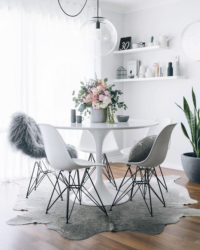 Tulip table inspiration | Inspiración con la mesa Tulip | casahaus.net