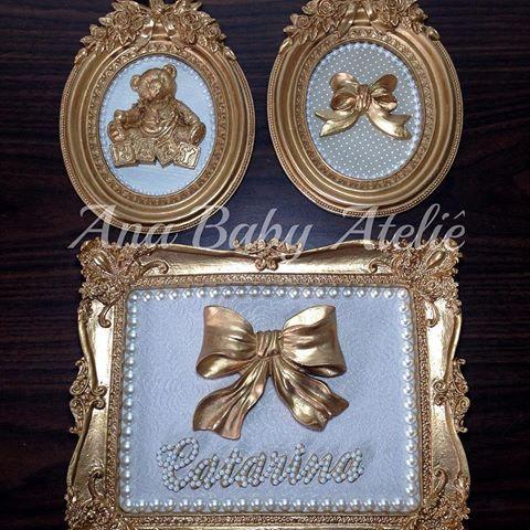 Trio de quadrinhos. Escolha seu tema, nos personalizamos.  Encomendas  whats (69)99021211 - Ana  #anababyatelie #anababydecor #decoracao #quartodobebe #decoracaodebebe #maedemenina #maedemenino #quadrodecorado #babygir #babyboy #baby #maternidade #maternity #enviamosparatodobrasil #dourado #amoperolas #decor #decoracaodeinteriores #artesanatodeluxo