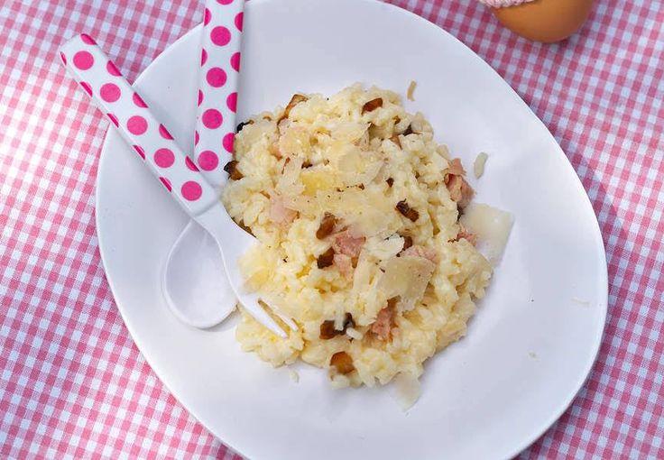Voir la recette duRisotto au parmesan >>