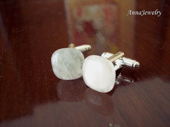 Sale Open Your Heart Rose Quartz Square Cut by annajewelry64