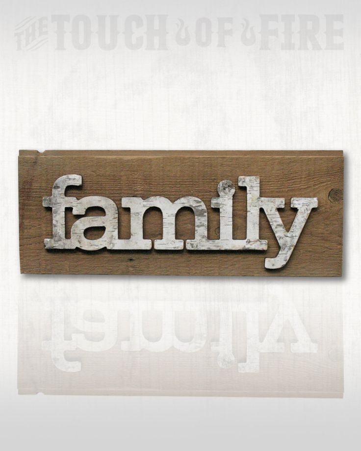 Rustic Birch Bark Family Sign • Birch Bark Letter •  Family Sign • Family by TheTouchofFire on Etsy https://www.etsy.com/listing/478364843/rustic-birch-bark-family-sign-birch-bark