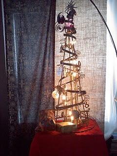 Steampunk Christmas Tree