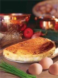 The Mere Poulard fluffy omelette recipe.