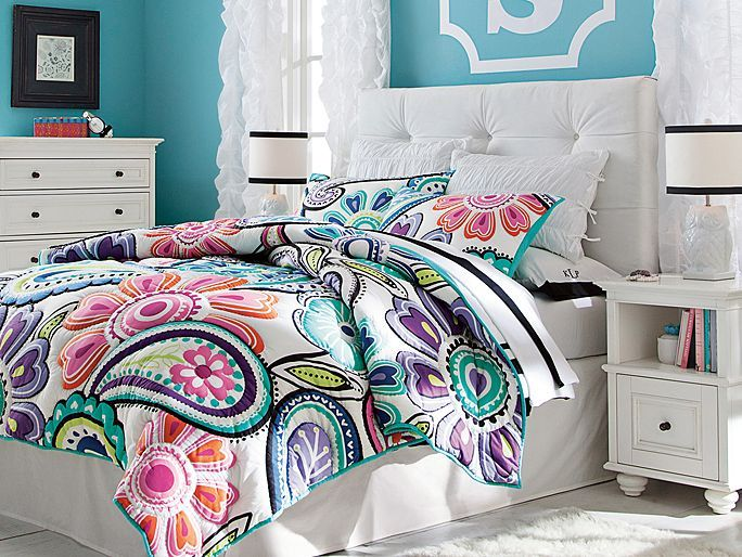 I love the PBteen Velvet Kennedy Bedroom on pbteen.com