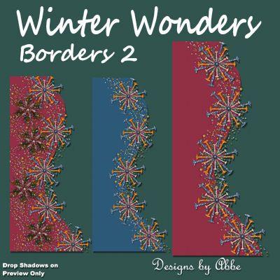 Winter Wonders Borders 2