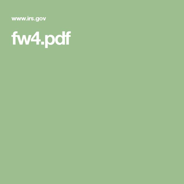 fw4.pdf. If you find yourself owing, decrease your exemption to have more taxes taken out. Example: if you are single and claiming yourself, and owe taxes, change your W4 exemption to 0. This way more taxes will come out during the year, and keep your from owing at the end of the year.