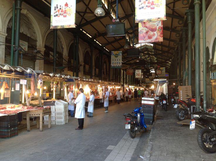 Varvakeios market, Athens, historical centre