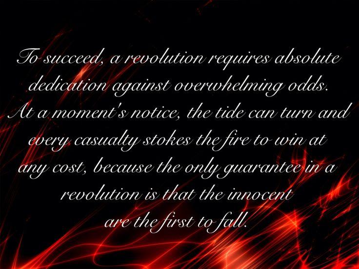 "Revolution Quote From TV Show ""Revenge"""
