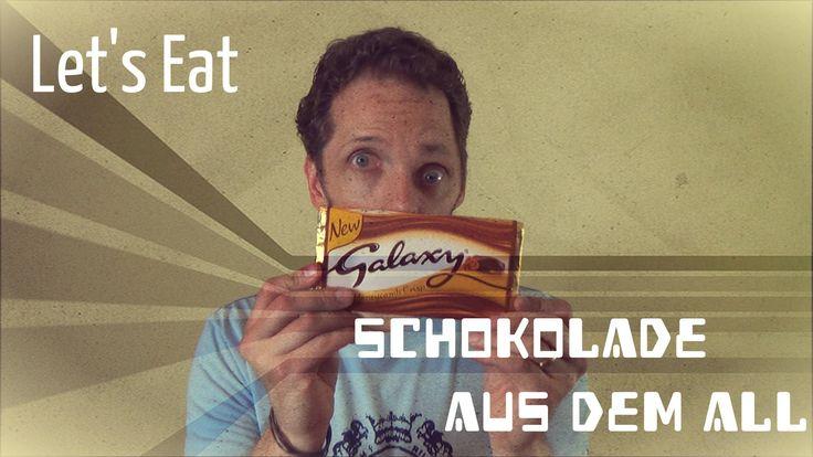 Let's Eat Galaxy Honeycromp Crisp - SweetsChecker Folge 164 - ungewöhnliche Süßigkeiten  /// Galaxy Schokolade ist in England sehr beliebt. Beim SweetsChecker gab es diese schon einige male und heute schon wieder mit Galaxy Honeycomp Crisp. Honigwaben mit Krümel? Na ob das gut geht? Schaut selbst.