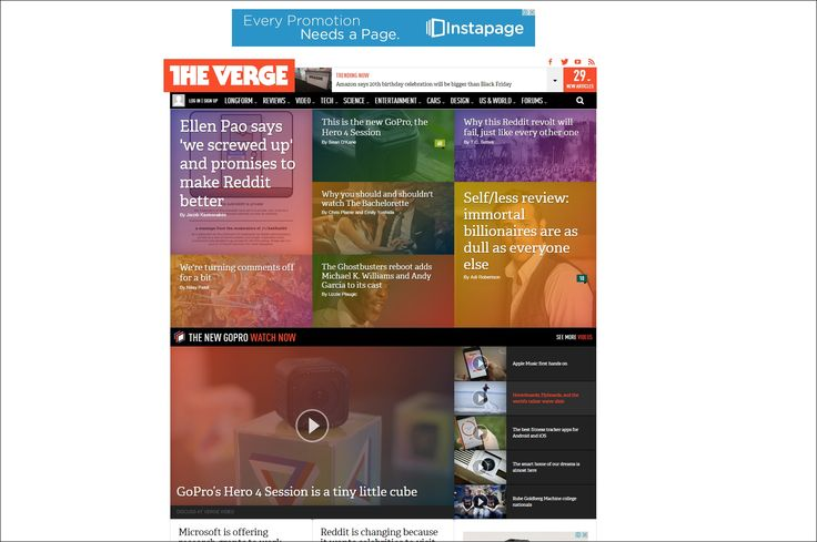 another great example of a metro/tile approach to homepage design