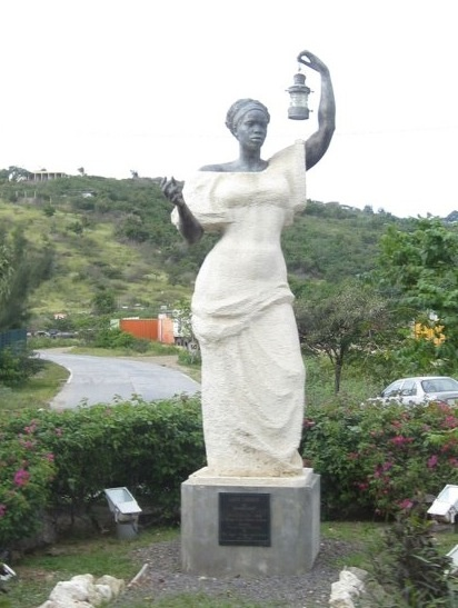 THE FIRST STATUE OF LIBERTY GIVEN TO THE U.S. BY FRANCE WAS A BLACK WOMAN. THE U.S. TURNED IT DOWN SO THE FRENCH MADE ANOTHER WHICH IS THE CURRENT IN N.Y. HARBOR.    THIS STATUE WAS MADE BY THE FRENCH ON THE ISLAND OF ST. MARTIN. WOMEN OF ALL CREATIONS MUST CONTINUE TO SHINE THE LIGHT FOR  THOSE IN NEED….ONELOVE