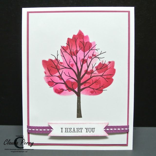 Stamping Ideas For Card Making Part - 27: Stamping In Columbus, GA: November Stamp-a-Stack, Part 2