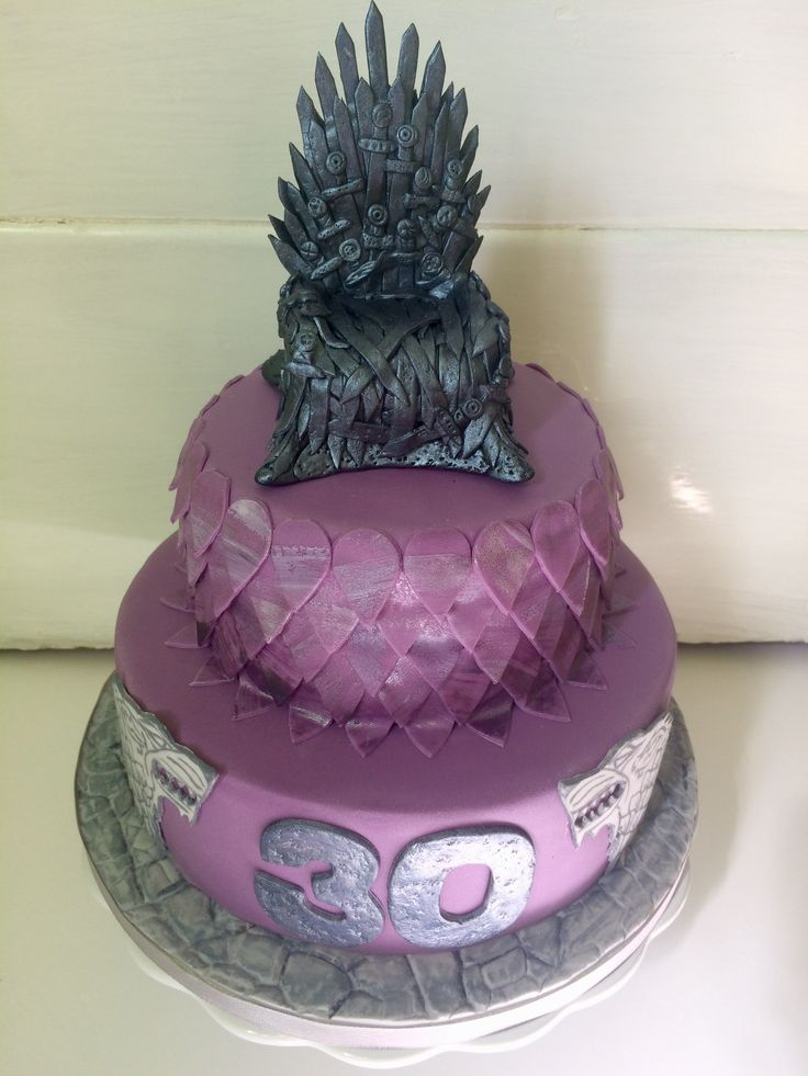 The Game of Thrones Cake