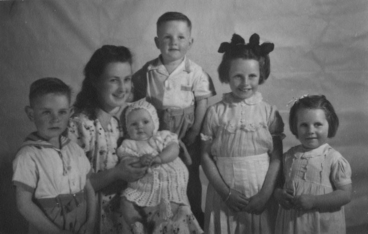 my mother molly crowe and brothers and sisters