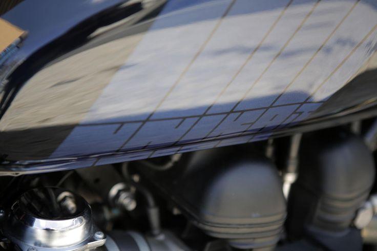 Triumph Bonneville SE custom motorcycle built by Unikat Motorworks