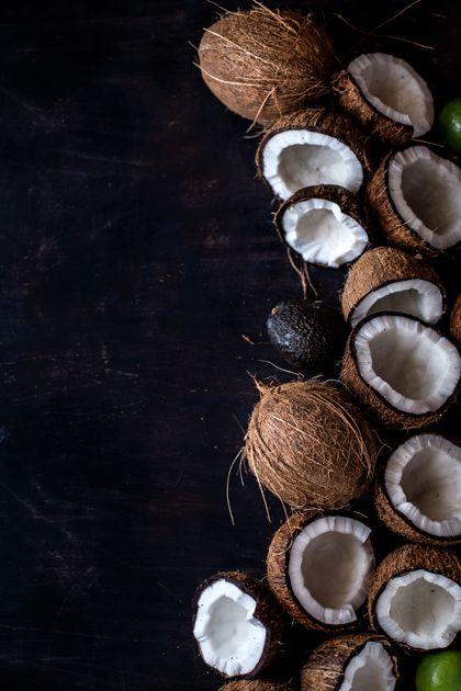 Coconut Milk and Avocado Ice Cream I foolproofliving.com