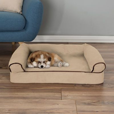 Orthopedic Tan Sofa Style Pet Beds | Pier 1 Imports