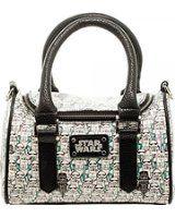 Star Wars Sketch Storm Trooper Mini Satchel Hand Bag