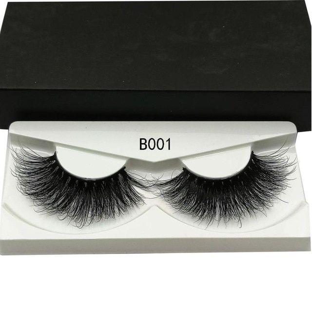 8edd67f9c96 2019 NEW 25mm Long 3D mink lashes extra length mink eyelashes Big dramatic  volumn eyelashes strip thick false eyelash-in False Eyelashes from Beauty  ...