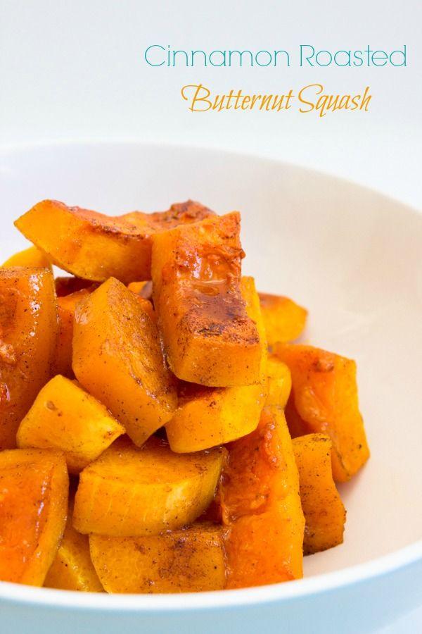Cinnamon Roasted Butternut Squash { Vegan, Vegetarian} - Brunch Time Baker