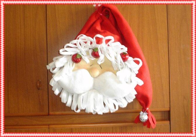 Babbo Natale Fuori Porta I Miei Lavori In Pannolenci