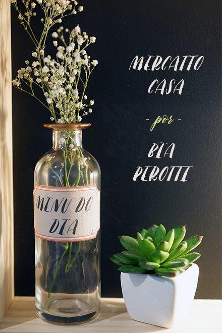 Coleção home décor - Mercatto Casa à moda de Bia Perotti