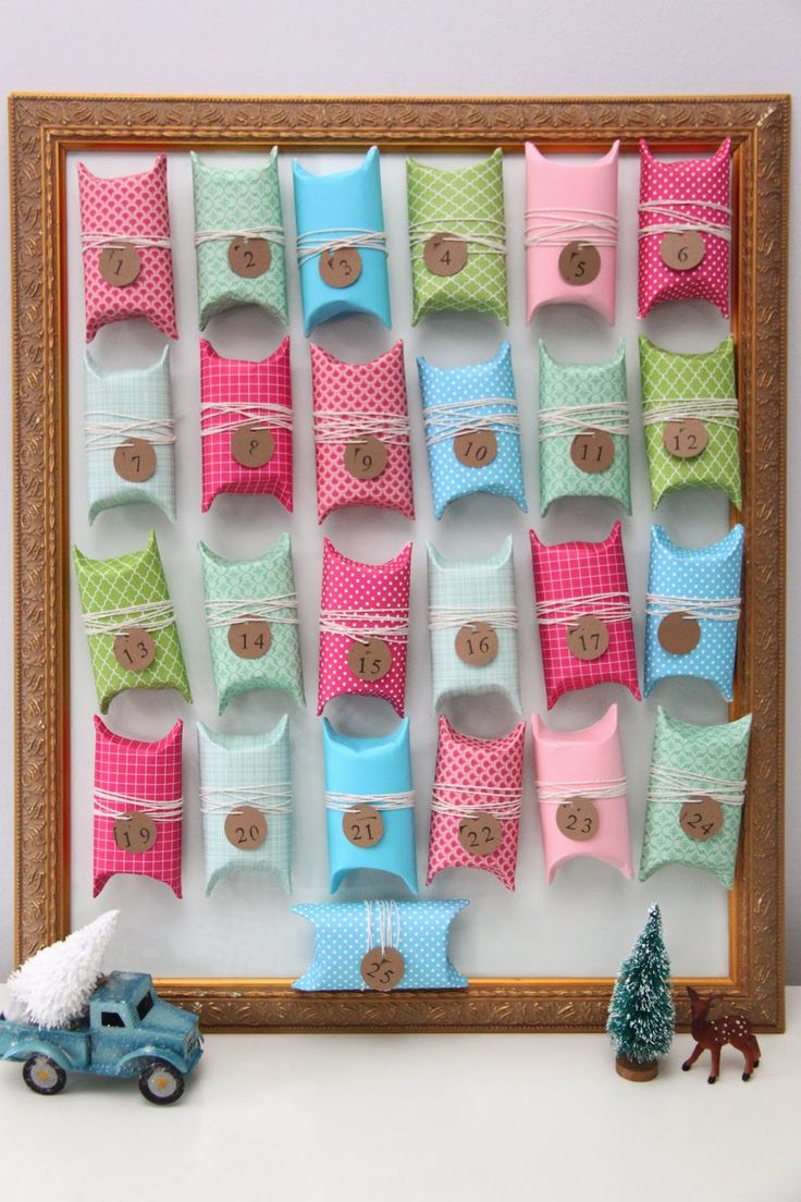 TUTORIAL: Toilet Paper Tube Advent Calendar - Smashed Peas & Carrots