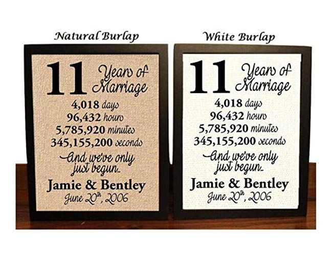 11th Anniversary Gifts For Her Under 30 17th Anniversary Gifts 21st Anniversary Gifts 13 Year Wedding Anniversary