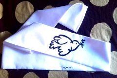 La paloma dePacasso en hachimaki
