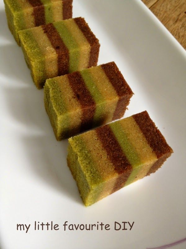 my little favourite DIY: Lapis Bumi Cake II (蒸咖啡可可千层蛋糕 ll)